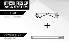 Barre Portatutto Menabo' Rack System Citroen C4 Cactus  alluminio antifurto