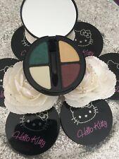 Hello Kitty Palette Quatuor Eyes Shadow Eyelids 07 Green Mania + Brush