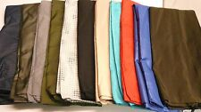 Lot of 12 Heavy Duty Nylon 30x40 Laundry Bag Chosen Colors and Patterns