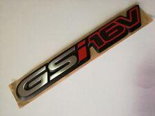 "NEU VAUXHALL OPEL Original Corsa B Astra "" GSi16V "" Emblem Logo Namensschild"