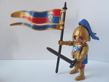 Playmobil Castle Extra Figure: Royal lion knight FLAG BEARER New