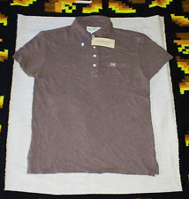 New $49.50 Denim & Supply Polo Shirt Brown MEN'S MEDIUM M Ralph Lauren RL FLAG