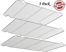 Baking Racks for Cooking Baking Roasting Grilling Cooling Stainless Steel 3 Pack
