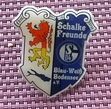 """PIN   """"S04 Schalke-Freunde Blau-Weiß Bodensee""""    NEU"""