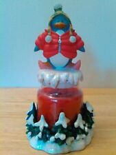 Avon Chilly Critters Penguin Christmas Candle Holder