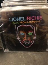 Lionel Richie  ** Hello From Las Vegas *BRAND NEW FACTORY SEAL CD FREE SHIPPING