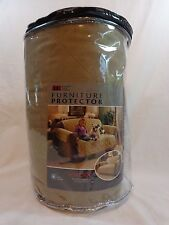 """Sofa LOVESEAT Slipcover NATURAL BROWN 1 Piece 88"""" x 75.5"""" Water Repellent"""