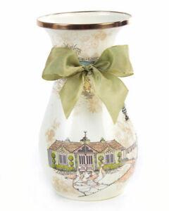 MacKennzie Childs Tall Aurora Enamel Vase- SOLD OUT