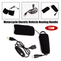 Motorcycle Electric Vehicle Heating Handle USB W/Temperature Control Switch Part