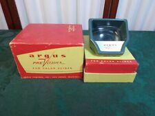 Unique Vintage Argus Color Slides PreViewer w/Original Box
