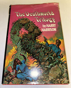 The Deathworld Trilogy Novel by Harry Harrison 1968 (Richard corben cover)