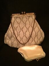 "Amazing Vintage 1950's""Jolles Original"" Purse Beaded Evening Bag Great Condition"