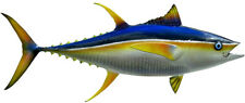 "Sport Fish Replica - 48"" YELLOW FIN TUNA WALL MOUNT - Half -Sided for Budget!"