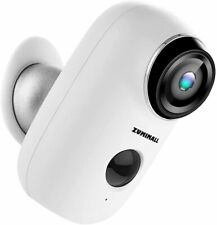 ZUMIMALL ZM-A3 Wireless Rechargeable Battery Security Camera - White  - Open Box