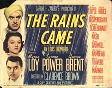 RARE 16mm Feature: THE RAINS CAME (Tyrone Power / Myrna Loy / George Brent)