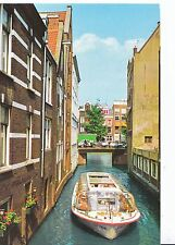 Holland Postcard - Amsterdam - Beulingsloot - Houses Built In The Water  SM428