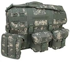 Computer Messenger Bag with 3 Molle Pouches Code Alpha Digital Camouflage