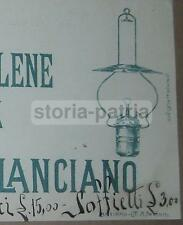 ABRUZZO_LANCIANO_ILLUMINAZIONE_LUMI_LAMPADE_ACETILENE_ANTICA RARA PUBBLICITARIA