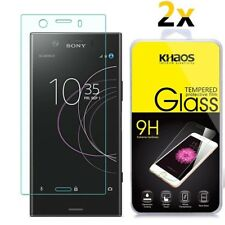 2-Pack Khaos For Sony Xperia XZ1 Tempered Glass Screen Protector