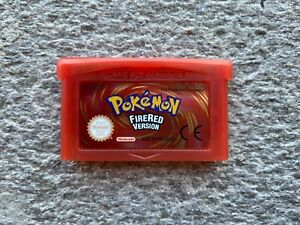 Pokemon ROSSO FUOCO italiano ita game boy advance sp nintendo ds fire red gba it