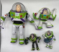 "Disney Pixar Toy Story Buzz Lightyear 12"" Works & 3 others ** Lot of 4 **"