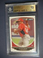 KOLTEN WONG 2013 Bowman Draft Top Prospects #TP28 BGS PRISTINE 10 Cardinals RC