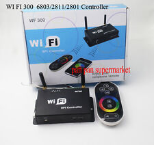 WiFi 300 LPD6803 WS2811 WS2801 LED Strip Controller Touchable Screen Remote LED