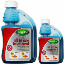 More details for blagdon all in one fish aid koi pond disease treatment parasites fungus bacteria