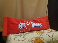 """Air Heads Cherry Approx 24"""" x 8"""" Candy Plush Red Novelty Pillow"""