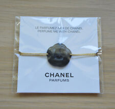 RARE VIP gift from Chanel beauty boutique black camelia blotter bracelet NEW