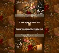 Baby Reborn Christmas Winter Responsive Listing Template mobile optimized ||669