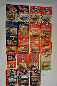 LOT OF 19 RACING CHAMPIONS Die Cast Cars Variety All New