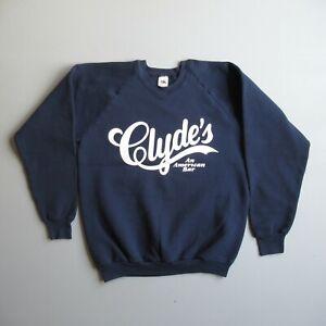 Vintage Clyde's Bar Sweatshirt Shirt Fruit of the Loom USA