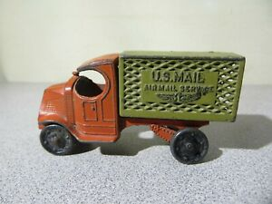 Antique - TOOTSIE TOY U.S. Mail Truck - Air Mail Service