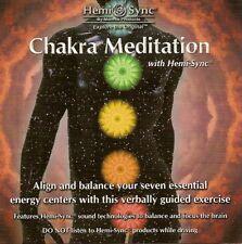 Chakra Meditation Hemi-Sync Monroe Verbal CD Dolphin sounds NEW self-help 51 m