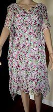 NWT $ 3,450 DOLCE & GABBANA Multi Floral Silk Dress 38