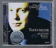 TAFELMUSIK 2CDS NEW ITALIAN ORATORIOS MATTHEW WHITE JEANNE LAMON