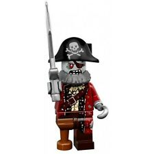Lego series 14 zombie pirate mini-figure #2 of 16 with checklist & unused code