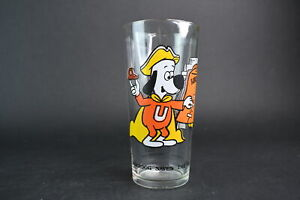 Vintage Leonardo-TTV Arby's Collector Underdog Saves The Bell Clear Water Glass