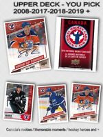 2018-19 Upper Deck Young Guns Complete Your Set - PICK YOUR CARD - COMBINE
