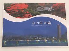 Lot Of 7 Beautiful Seoul Unused Postcards Songpa, Seoul City, Myenogdong Street