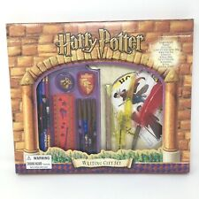Harry Potter Writing Gift Set Vintage Pen Pencil Paper Stickers New In Box