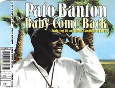 cd-single, Pato Banton feat. Ali & Robin Campbell - Baby Come Back, 4 Tracks