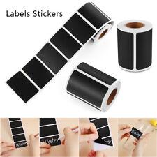 120/150pcs Erasable Chalkboard Blackboard Kitchen Jars Removable Labels Stickers