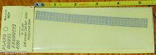 Plano #286  E8B Intake Grille -- Horizontal (N Scale)