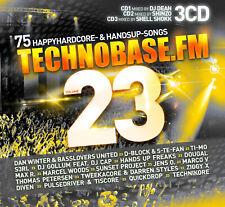 CD TechnoBase.FM Vol.23 von Various Artists 3CDs
