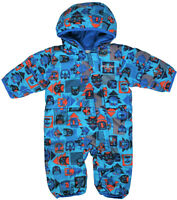 Columbia Baby 3-6M Snuggly Bunny Bunting Down Super Blue Critter Winter Snowsuit