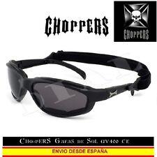CHOPPERS Sunglasses Gafas de Sol CE UVAB con Goma Moto Custom Lunettes Occhiali