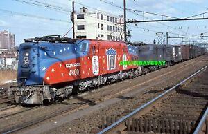 1 Original Railroad Slide -  CONRAIL 4800 + 1