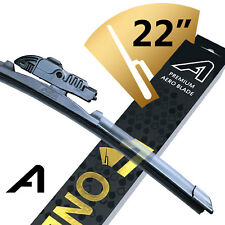 "Front Aero Wiper Blade - Windscreen Window Car AWBONE022 - 22"" / 560mm Long :V1"